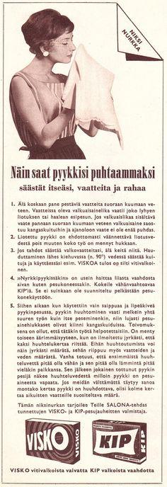 VISKO ja KIP Kotiliesi 1961