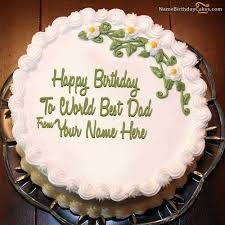 Image result for cake for dad image