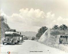 Carretera Mexico-Acapulco Hacia 1945