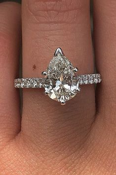 Wedding Jewelry - Gold engagement rings are the most traditional and popular rings for future brides. Click and get ready to choose the most stunning engagement ring for you! Engagement Solitaire, Wedding Rings Solitaire, Cushion Cut Engagement Ring, Princess Cut Engagement Rings, Most Beautiful Engagement Rings, Princess Wedding, Big Wedding Rings, Wedding Ring Styles, Wedding Jewelry