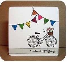 hero arts bicycle stamp ideas - Google Search
