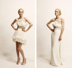 marchesa | Wedding Dress Designer: Marchesa