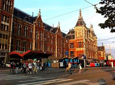 Central Station, Amsterdam, Holland