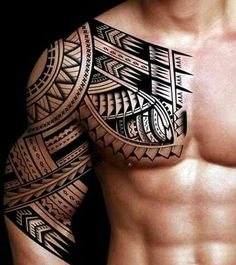 30 Beautiful and Creative Tribal Tattoos for men and women tattoos tribal Th. - 30 Beautiful and Creative Tribal Tattoos for men and women tattoos tribal This image has get 80 - Cool Shoulder Tattoos, Half Sleeve Tattoos For Guys, Full Sleeve Tattoos, Samoan Tribal Tattoos, Tribal Tattoos For Men, Tribal Tattoo Pictures, Maori Tattoo Arm, Hawaiian Tribal Tattoos, Polynesian Tattoo Designs