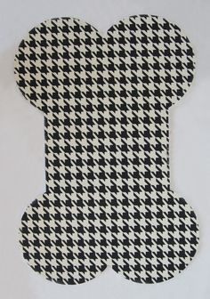 My Best Friend Houndstooth Pet Mat... dogs can be stylish too