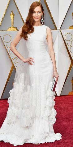 See All the Celebrity Looks from the 2017 Academy Awards Red Carpet - Darby Stanchfield from InStyle.com