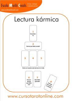 Esta lectura nos permite conocer cual e nuestro Karma y que debemos aprender en esta vida.   #Tarot #Tiradas #Plantilla #Cartas #interpretación #aprender #tarot #viajes #dinero #pareja #trabajo #Arcanos #Barcelona #online #cursodetarot #psicologia #casas #ArcanosMayores #ArcanosMenores