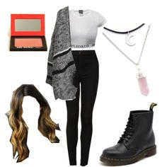 Untitled #108 by fashionxstuff on Polyvore featuring polyvore fashion style Topshop Dr. Martens TheBalm