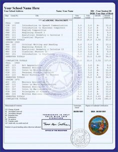 Free College Transcript Template Buy College diplomas and transcripts 24 hour translation services Free High School Diploma, College Diploma, University Diploma, Homeschool Diploma, Homeschool Transcripts, Homeschool High School, Homeschooling, University Certificate, High School Degree