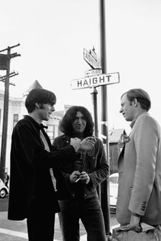 Tom Wolfe's California - In the Golden State, the great writer first chronicled the social changes that would transform America.  Wolfe (right) with the Grateful Dead's Jerry Garcia (center) and the band's manager, Rock Scully, in 1966 San Francisco