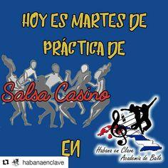 #Repost @habanaenclave No te lo puedes perder... ya sabes dónde vernos!!! Corre la voz!!! #habanaenclave #academiadebaile #salsacasino #salsacasinovzla #salsacasinovenezuela #ccs #caracas #practicas #alumnos #martes