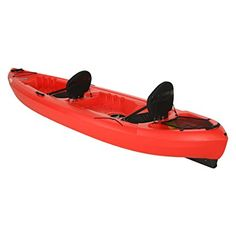 Amazon.com : Lifetime Beacon Tandem Kayak, Red, 12' : Sports & Outdoors
