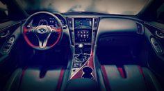 2014 q50 eau rouge concept design interior 2014 Infiniti Q50 Eau Rouge Premium Sport Concept