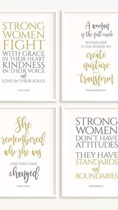Motivational Quotes For Students, Inspirational Quotes For Women, Inspirational Wall Art, Respect Women Quotes, Stay Strong Quotes, Independent Women Quotes, Stronger Than You Think, Goal Quotes, Preschool Books