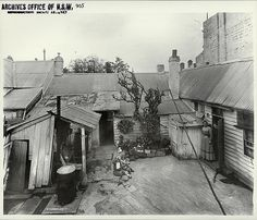 Rear of 41 Cumberland Street, The Rocks [Rocks Resumption photographic survey] Dated: October 1901 Digital ID: 4481_a026_000103 Rights: www.records.nsw.gov.au/about-us/rights-and-permissions We'd love to hear from you if you use our photos. Many other photos in our collection are available to view and browse on our website using Photo Investigator.