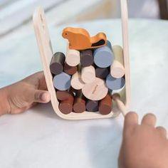 Plan Toys Timber Tumble | Bohemian Mama Peanut Shop, Le Castor, Beaver Falls, Bottles For Sale, Plan Toys, Wood Sticks, Baby Girl Dolls, Doll Shop, Designer Toys