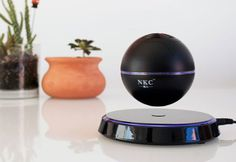 Levitating Bluetooth Orb Speaker Is A Working Piece Of Cool Art, And It's 29% OFF - http://viralfeels.com/levitating-bluetooth-orb-speaker-is-a-working-piece-of-cool-art-and-its-29-off/