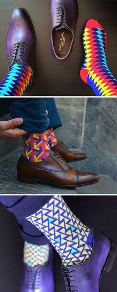 b140a9d686a Bold socks for the modern gentleman! Men Accessories Man Stuff