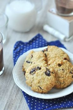 3 zabkeksz - jobb, mint a bolti Healthy Cookie Recipes, Healthy Cookies, Bobe, Tasty, Yummy Food, Small Cake, Health Eating, Winter Food, Pavlova