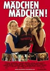 Madchen Madchen! (2001) $19.99; aka's: Mädchen Mädchen!/Girls On Top; Inken (Diana Amft) is an eighteen-year-old girl, frustrated for not yet having had an orgasm with her boyfriend. Her two best friends are Vicky (Felicitas Woll), who is in the same situation as Inken, and the still-virgin Lena (Karoline Herfurth). Inken and Vicky try to find a man or woman able to give pleasure to them while Lena has her heart broken by her boyfriend. In German language, with English subtitles.