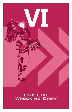 Vi League of Legends Print