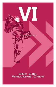 Vi League of Legends Print