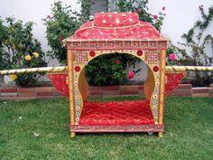New Designer Wedding Doli Indian Wedding Planner, Indian Wedding Invitations, Wedding Prep, Wedding Planning, Bride Entry, Mandap Design, Decoration For Ganpati, Wedding Doll, Hindu Bride