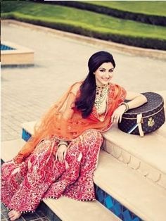 Soha Ali Khan's Bridal Photo Shoot for Verve