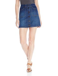 French Connection Women's Mia Denim Skirt -- This is an Amazon Affiliate link. To view further for this item, visit the image link.