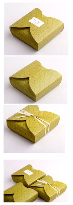 Paper Gift Box 5 boxes nd020 by verryberrysticker on Etsy