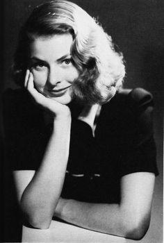 Ingrid Bergman, 1938,love this beautiful photo of her,great actress!