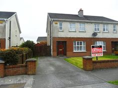 41 Ardleigh Crescent, Mullingar, Co. Westmeath - 3 bedroom semi-detached house for sale at from Property Partners McDonnell Semi Detached, Detached House, Home Buying, Mansions, Bedroom, House Styles, Outdoor Decor, Houses, Home Decor