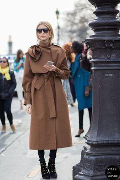 amazing topper. Lena in Paris. #ElenaPerminova