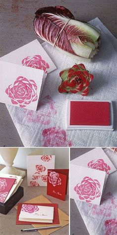 creative diy wedding ideas-diy floral wedding invitations