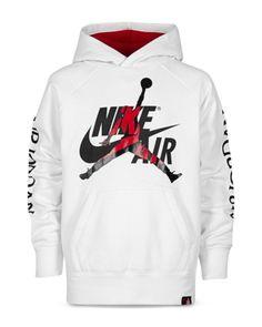 Jordan Kids' Big Boys Nike Air Jumpman-print Hoodie In White Sweatpants Outfit, Hoodie Outfit, Swag Outfits, Nike Outfits, Tomboy Outfits, Boys Hoodies, Mens Sweatshirts, Jordan Boys, Jordans Girls