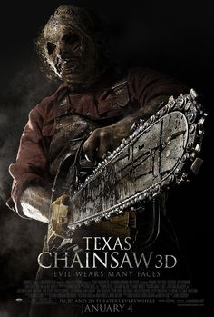 """Win free anytime movie tickets to the all-new horror film """"Texas Chainsaw 3D"""" plus horror film DVD sets courtesy of HollywoodChicago.com! Win here: http://ptab.it/ochq"""