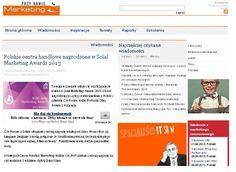 """2013.05.16 Marketing przy kawie: """"Polskie centra handlowe nagrodzone w Solal Marketing Awards 2013"""" http://www.marketing-news.pl/message.php?art=38501"""