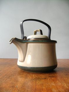 Vintage Bing and Grondahl Tema Teapot by luola on Etsy, $98.00