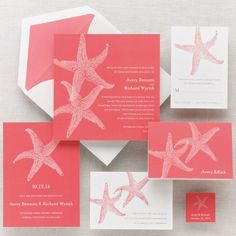 Beach Wedding Invitations | Invitations by Exclusively Weddings, Wedding Invitations Photos by ...