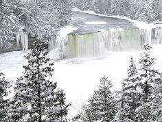 Tahquamenon Falls U.P. Michigan