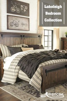 Transform your bedroom into a rustic retreat for less at American Furniture Warehouse. Shop the Lakeleigh Bedroom Collection and our huge selection of Ashley furniture at the best prices at AFW.com.