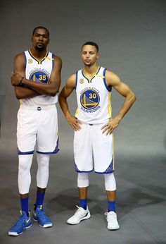 Kevin Durant and Stephen Curry More