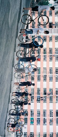 """There are nine million bicycles in Beijing... #Flashback to issue 5 and read """"Hong Kong Konnection"""""""