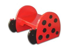 Ladybug Step Stool --  Have a friend whose daughter must have this stool!! :)