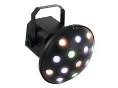 Der Mushroom-Strahleneffekt LED Z-1000 von Eurolite bietet mit seinen 6 verschiedenen 3-Watt-LEDs messerscharfe, bunte Strahlen in Rot, Grün, Blau, Amber, Weiß und Pink, die in verschiedenen Modi wiedergegeben werden können: Sie können entweder zwischen 9 internen Showprogrammen wählen, über das integrierte Mikrofon die Musik den Rhythmus vorgeben lassen oder einen DMX-Controller anschließen (das Gerät belegt 10 DMX-Kanäle). Derby, Led Z, Dmx Controller, Z 1000, Design Vase, Zig Zag, Pink, Products, Plugs