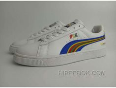 66d544ed49821 Puma Basket X Dee Ricky BW 360211 Rainbow Limited Men Women White Super  Deals, Price: $88.00 - Reebok Shoes,Reebok Classic,Reebok Mens Shoes