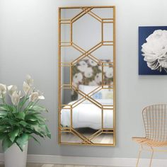 Dejon Full Length Mirror New Home Mirror Floor Mirror