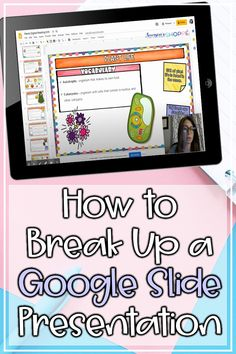 Distance Learning | Digital tips | Google | Tech tips for your remote learning classroom. Teachers, learn how to break up that long Google Slide presentation into small lessons for your students. Follow the easy digital instructions that walk you through turning your Google lessons into small chunks for student paced lessons in a blended learning environment. These tips work well for grade 4 5 6 home school or elearning classroom. #homeschool #techtip #distancelearning