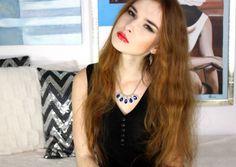 Webcam sexy Egrett, une belle fille rousse de 19 ans, nue en live show