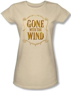 NerdKungFu - Gone With the Wind Logo Girls Shirt, $22.95 (http://www.nerdkungfu.com/gone-with-the-wind-logo-girls-shirt/)
